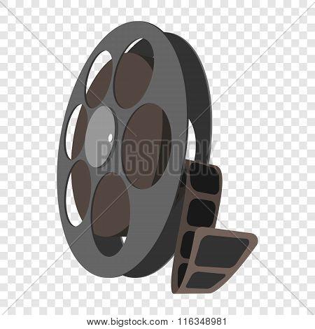Videotape cartoon icon
