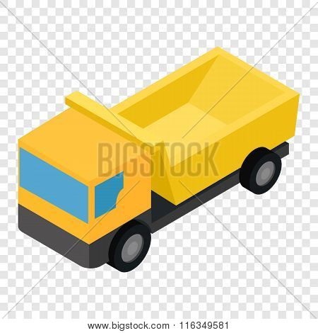 Truck isometric 3d icon