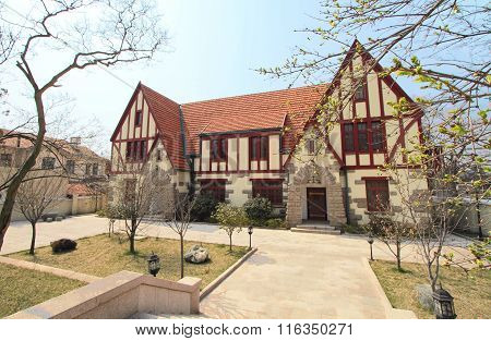 colonial architecture in Qingdao