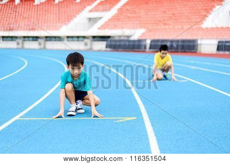 Child Start Running