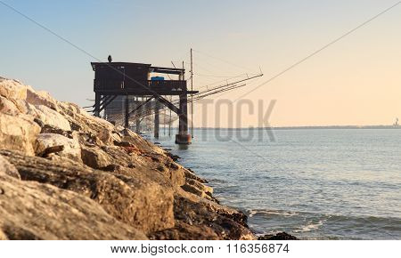 Casoni, Ancient Stilt House Of Fisher Man
