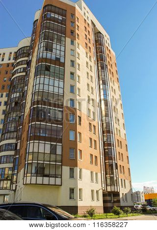 Modern Apartment House.