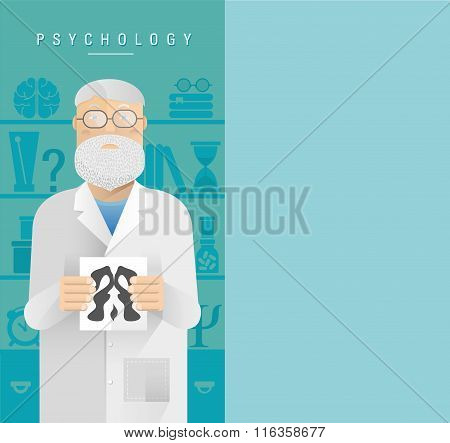Psychologist In Glasses