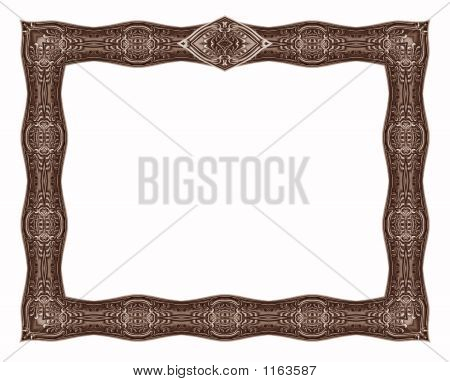Antique Border 6 - With Crest