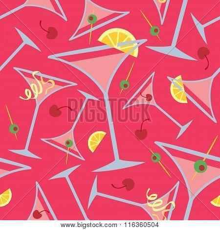 Pink Martini Pattern