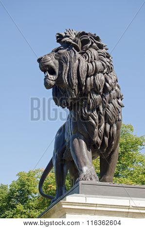 Lion Sculpture, Maiwand War Memorial, Reading