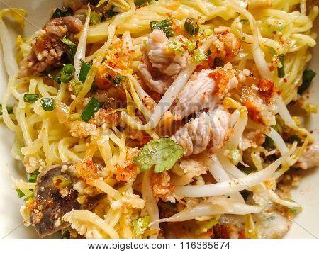 dry noodle Thailand food