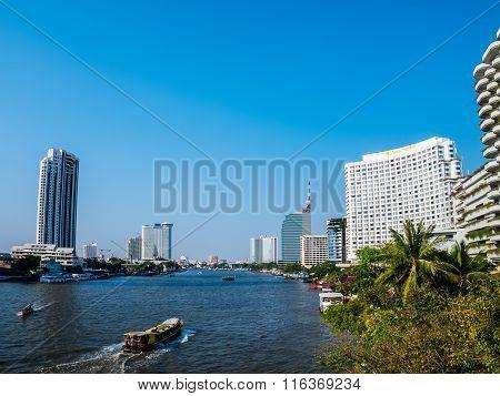 Hotel Riverside Chow Phraya River