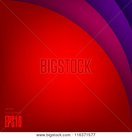 Multi colored modern vector background