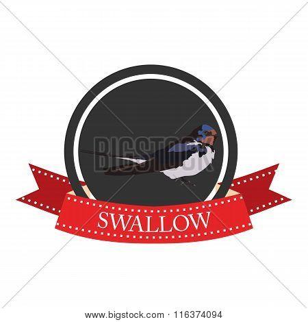 Flat Icon Swallow