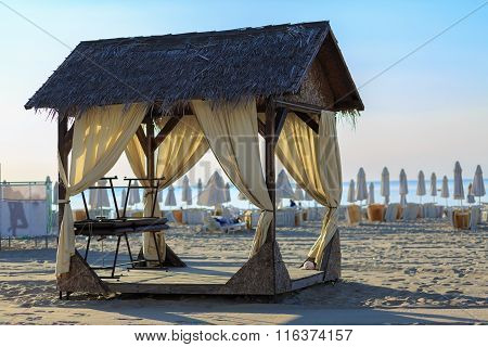 Canopy On The Beach