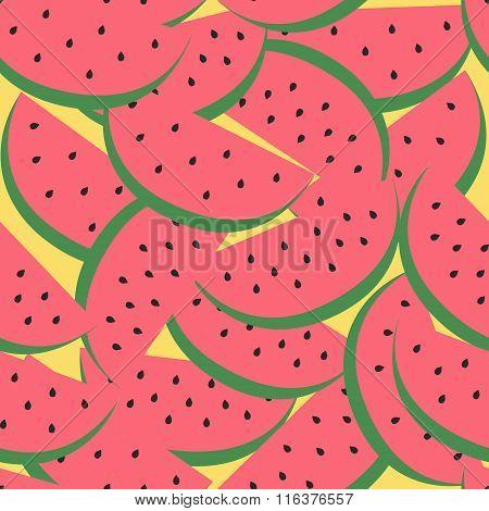 vector watermelon pattern