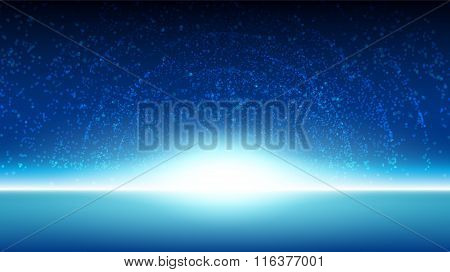 Space sky background
