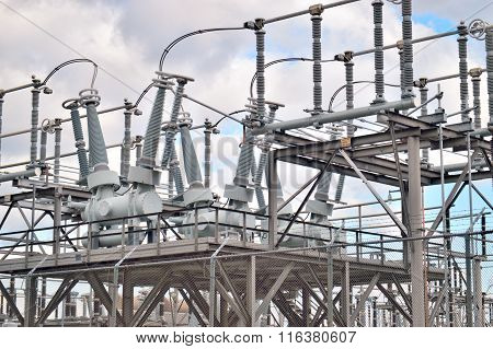 Electric Power Substation.