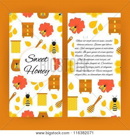 Sweet Honey Flyer Brochure Template