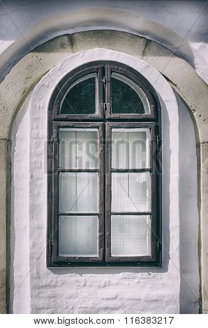 Vintage Glass Window