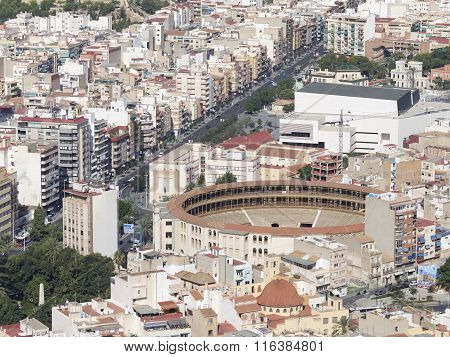 Residential Areas And Round The Arena Alicante