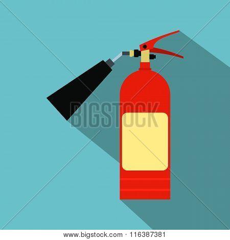 Fire extinguisher flat icon