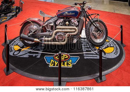 Customized Indian Scout