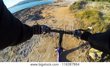 Cycling By The Sea