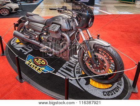 Customized Moto Guzzi California