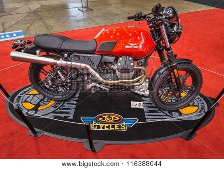 Customized Moto Guzzi V7 Scrambler