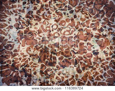 Animal Skin Fur Abstract Pattern Background