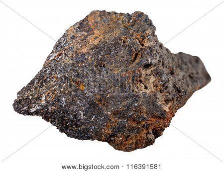 Psilomelane (black Hematite) Mineral Stone