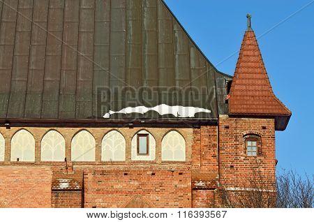Koenigsberg Cathedral. Kaliningrad, Russia