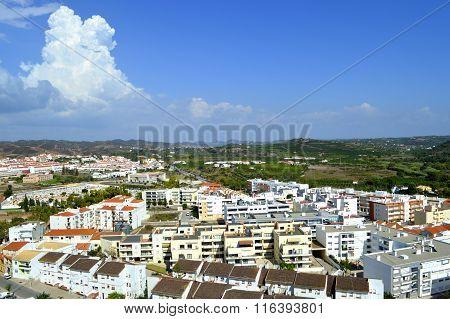 Silves the old Moorish capital of Algarve in Portugal
