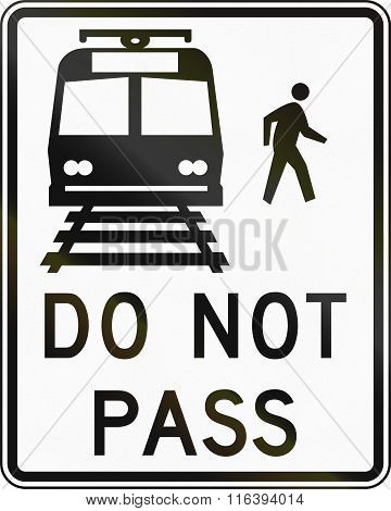 United States Mutcd Road Sign - Do Not Pass