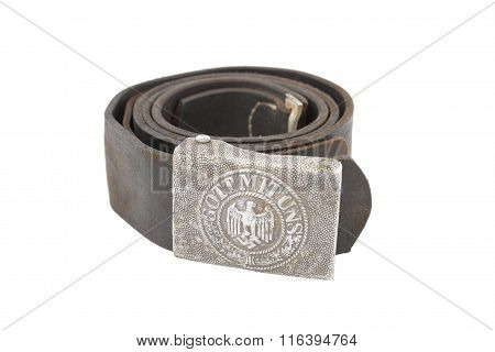Old German Soldier Belt