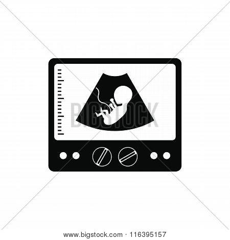 Ultrasound fetus icon