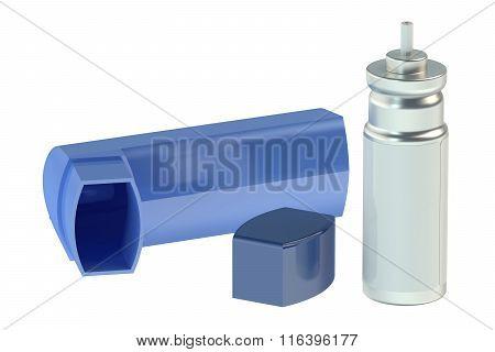 Parts Of Asthma Inhaler