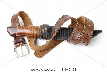 Hunting Knife With Strap