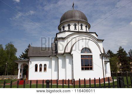 Military church in Targu Jiu , Romania