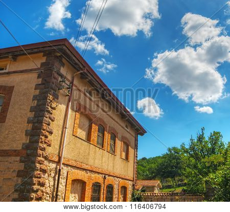 Old Building In Burgos Forest