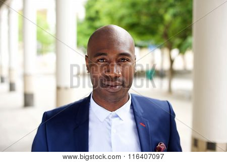 African Businessman In The City