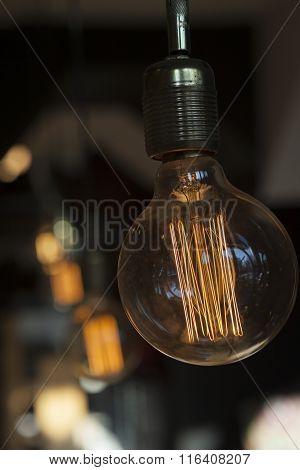 Vintage Globe Filament Bulb