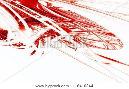 3D Red Space