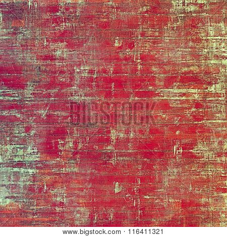Grunge background with space for text or image. With different color patterns: yellow (beige); brown; red (orange); pink; cyan