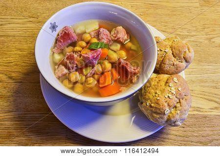 Pork Leg Soup