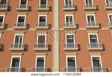 Neapolitan Building Facade