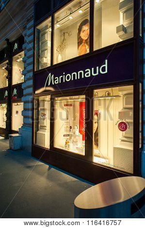 Marionnaud Beauty And Fragrance Store Facade