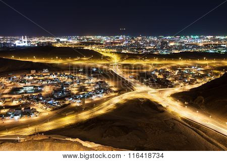 View Of Muscat At Night