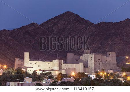 Historic Bahla Fort In Oman