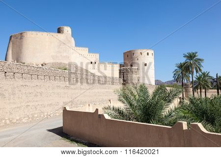 Rustaq Fort In Oman