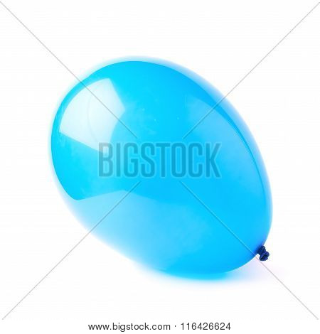 Inflated air balloon isolated