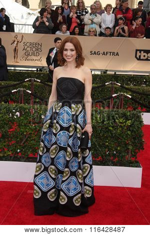 LOS ANGELES - JAN 30:  Ellie Kemper at the 22nd Screen Actors Guild Awards at the Shrine Auditorium on January 30, 2016 in Los Angeles, CA