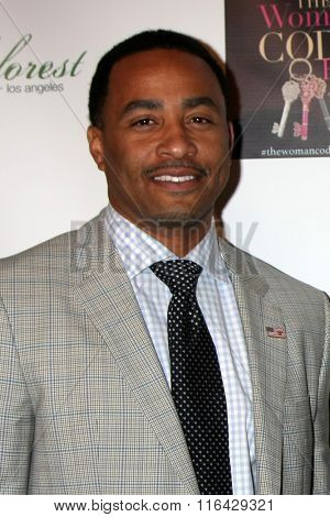 LOS ANGELES - JAN 29:  Terrell Fletcher at the An Evening with The Woman Code Event at the City Club on January 29, 2016 in Los Angeles, CA